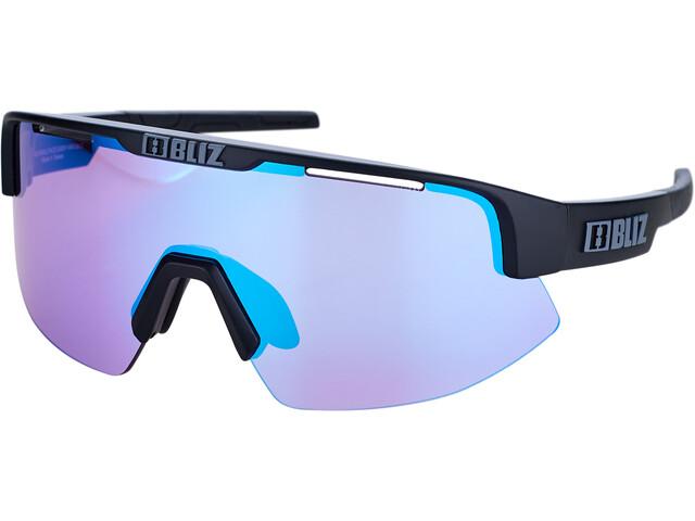 Bliz Matrix M11 Glasses for Small Faces matte black/violet/blue multi nordic light